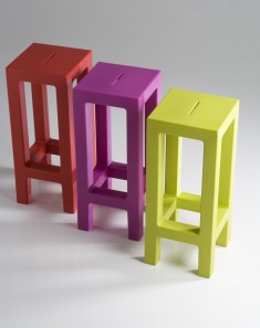 Design-Hocker : Kollektion JUT