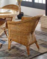 Sessel aus Rattan : Kollektion WICKER Natural