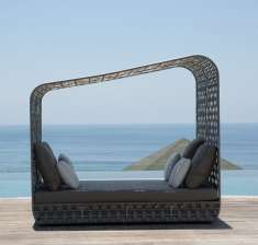 Design Daybed-Gartensofa : Kollektion STRIPS