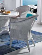 Sessel aus Rattan : Kollektion WICKER Wei�