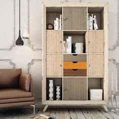Dekoratives Holzregal : Modell AACHEN ECO