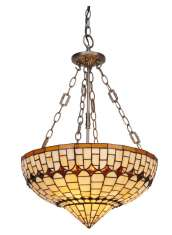 Deckenlampe im Tiffany-Design : Kollektion ART