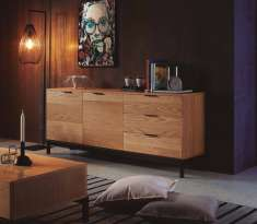 Sideboard aus Eiche : Kollektion MANHATTAN