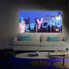 LED Leuchtbilder : Modell NEW YORK