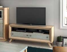 TV-Regal aus Holz : Modell PADERBORN ECO