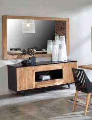 Hölzernes Sideboard : Kollektion CALIFORNIA