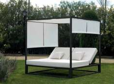 Balinesisches Outdoor-Bett : Kollektion MARBELLA