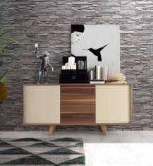 Sideboard aus Holz : Modell BALTICO