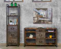 Sideboard im industriellen Design : Kollektion EDITO