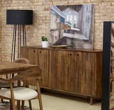 Dekoratives Sideboard aus Holz : Kollektion CALVIN
