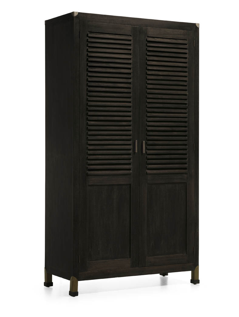kleiderschrank industrial ihr online shop f r ausgefallene schr nke. Black Bedroom Furniture Sets. Home Design Ideas