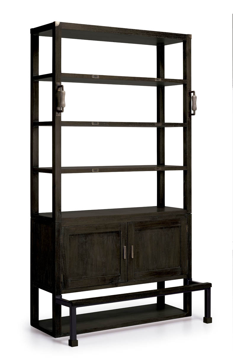 dekoratives b cherregal industrial dekoration beltr n. Black Bedroom Furniture Sets. Home Design Ideas