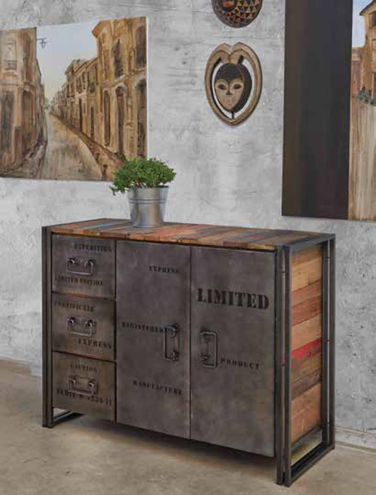Sideboard edito im industrial design dekoration beltr n for Muebles y decoracion beltran