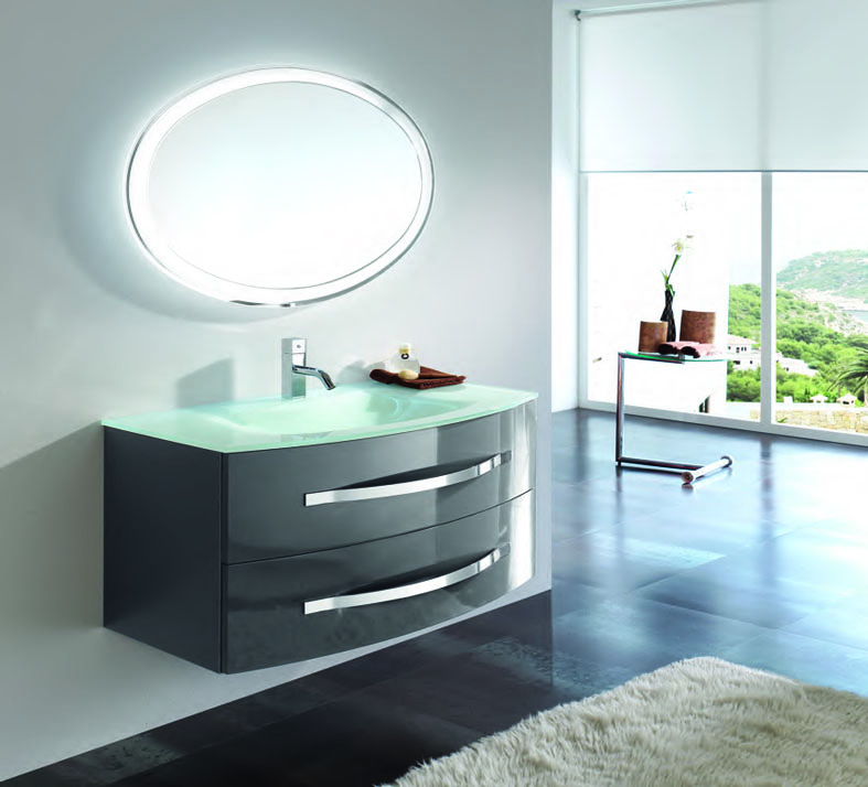 badezimmer spiegel oval acid led dekoration beltr n ihr online shop. Black Bedroom Furniture Sets. Home Design Ideas