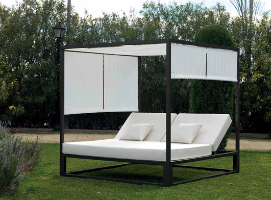 dekorative gartenbank marbella dekoration beltr n ihr. Black Bedroom Furniture Sets. Home Design Ideas