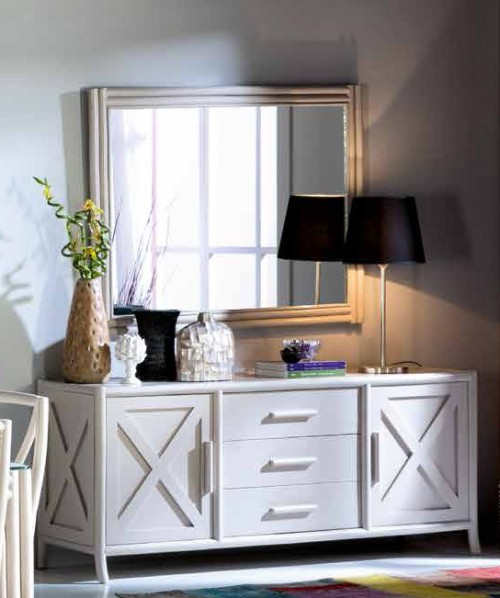 Sideboard aus Rattan : Kollektion CONNIE